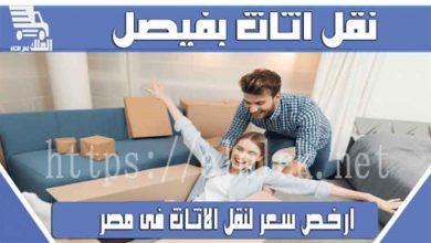 صورة شركه لنقل الاثاث فيصل